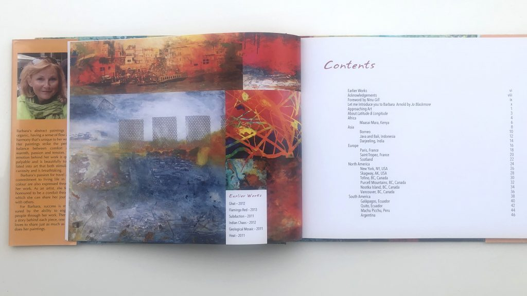 Latitude & Longitude Book by Barbara Arnold
